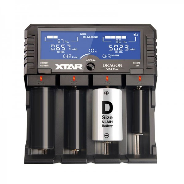 Chargers - XTAR VP4 Plus Dragon Charger