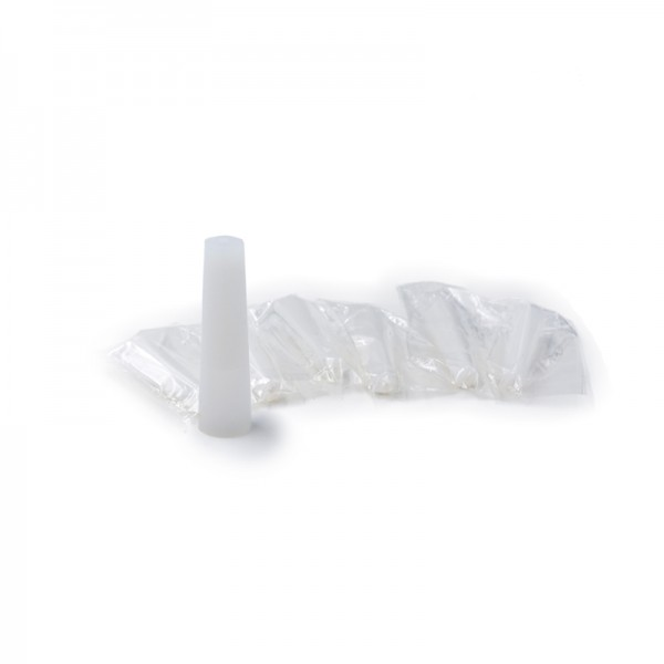 Drip Tip Disposable Silicone White