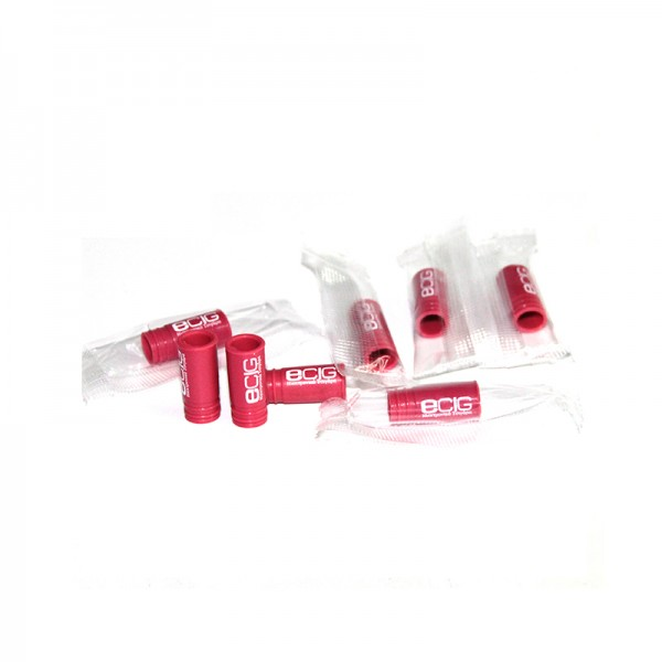 Filters & Drip Tips - Drip Tip Disposable Silicone Red