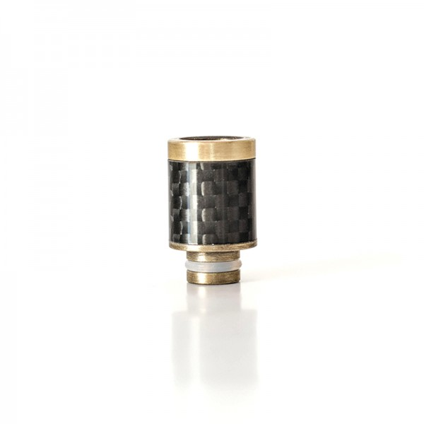Filters & Drip Tips - Drip Tip Carbon+SS 20mm
