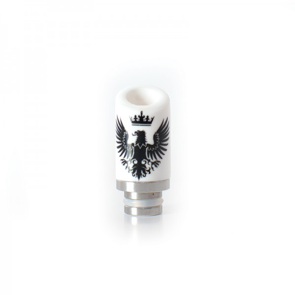 Drip Tip Ceramic Eagle Bevel