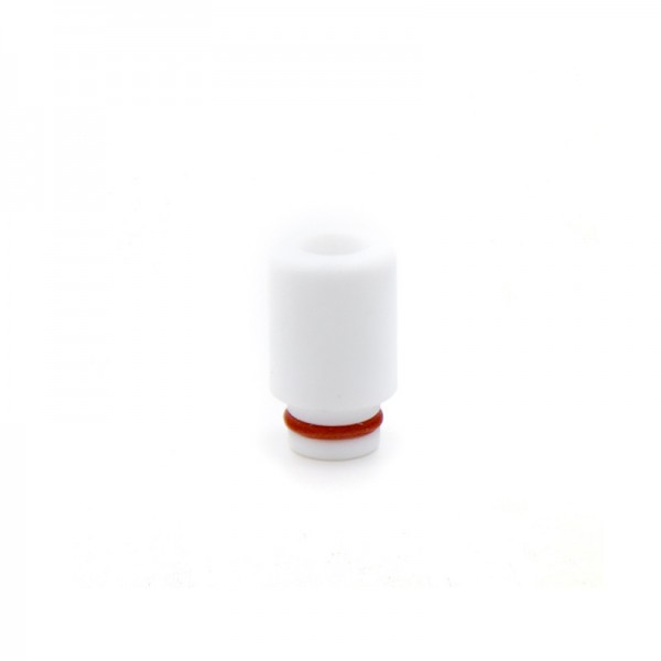 Filters & Drip Tips - Drip Tip Teflon White Big Fat