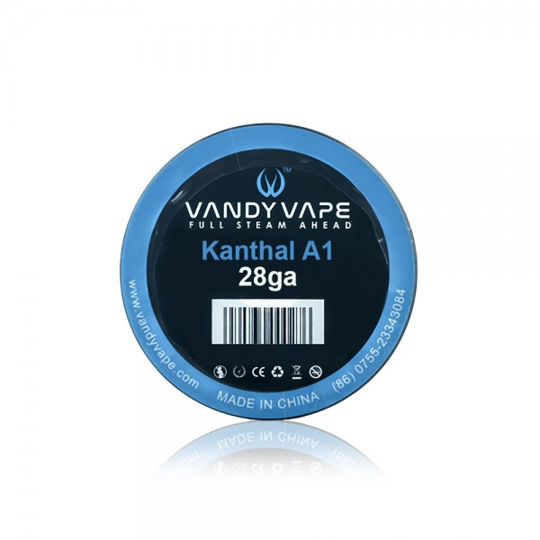 Various Parts - Vandy Vape Kanthal A1 28ga Wire  - 10m