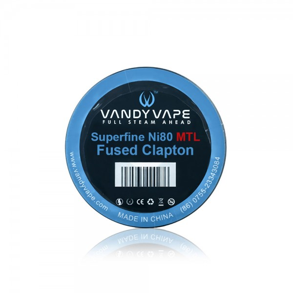 Vandy Vape Ni80 Superfine MTL Fused Clap...
