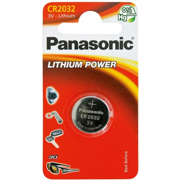 Panasonic Lithium Power CR2032 3V