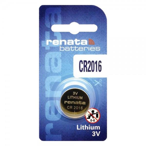 Bulk Products - Renata Lithium Battery CR2016 3V