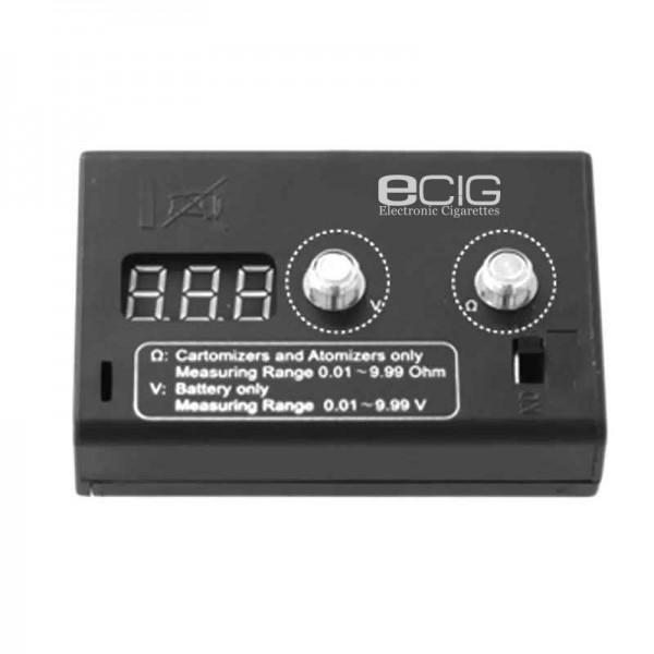 Stands / Voltmeters - eCig Digital Ohmmeter & Voltmeter