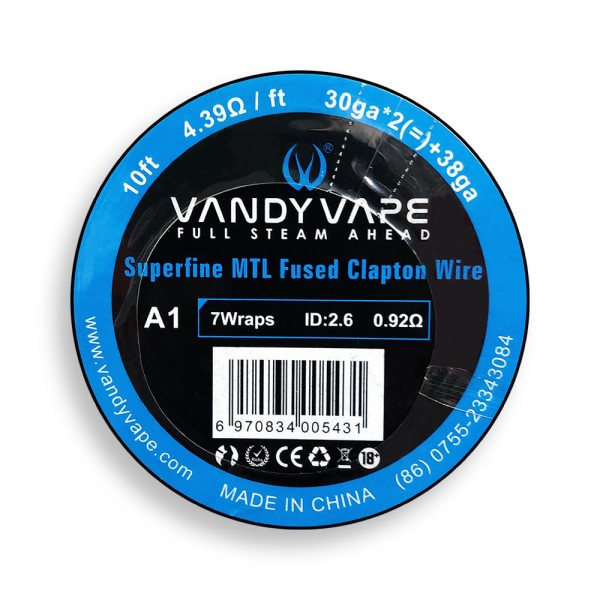 Vandy Vape Superfine MTL Fused Clapton A...