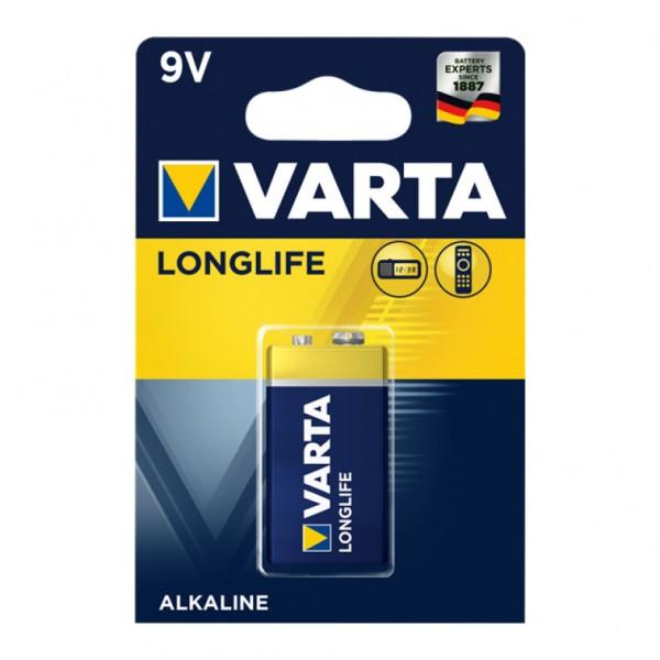 Bulk Products - 9V Varta Longlife Alkaline Battery