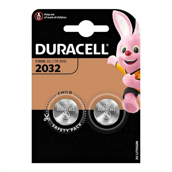Buttoncell Duracell CR2032 2pcs