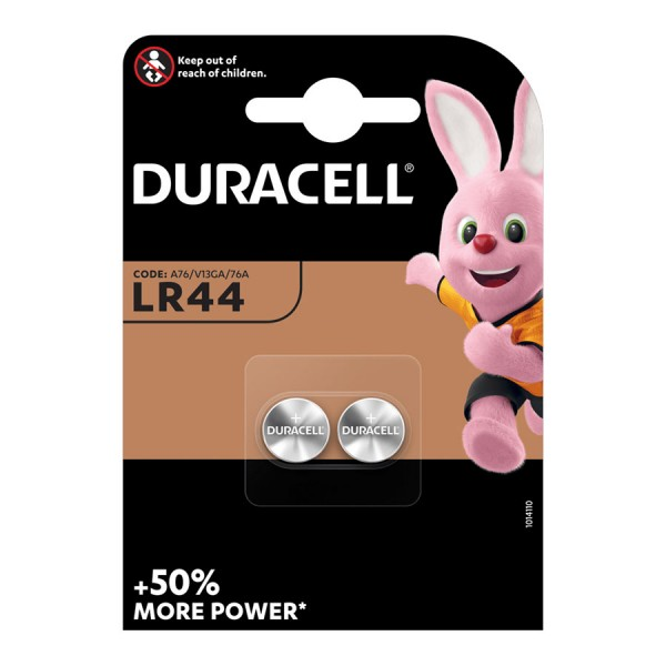 Duracell +50% More Power LR44 (A76)  (2...